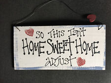 Perfect Gift Christmas or Birthday Present Soft Furnishing Home Sweet Home