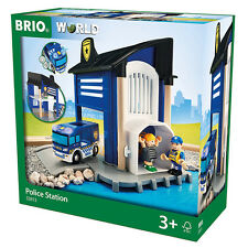 Brio Lights & Sounds Police Station 33813 NEUF