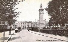 Barnstaple,U.K.Albert Memorial Clock,Devon,c.1909