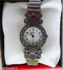 Reloj marca Faberge para señora, Quartz, Japan Movement, correa acero inoxidable