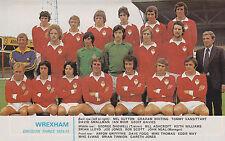 Wrexham Di Calcio Foto > 1974-75 Stagione