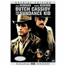 Butch Cassidy and the Sundance Kid DVD Region 1 Special ED. FAST SHIP