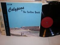 ERSKINE ZUILL Calypso At The Carlton Beach LP Edmar ELP-0001 caribbean VG+