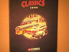 RARE CATALOGUE VENDEUR CORGI USA Gd FORMAT 1er S.1995/CAMION/AUTO/ CARS 1960/70