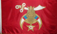Shriners / Masons Flag - 3' X 5' Polyester - Sword