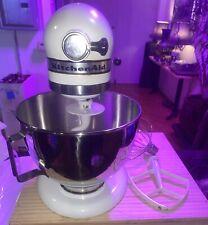 Vintage KitchenAid Hobart K45 Mixer 10 Speed w/ Bowl And Attachments Tilt Head