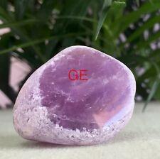 Amethyst Ema Egg Crystal Quartz Specimen Window Amethyst Seer Meditation Stone.