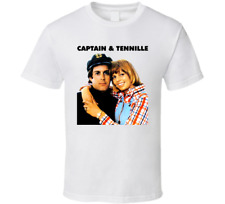 New 70s Music Captain And Tennille Soft Rock Pop Men's T-Shirt Size S-2XL