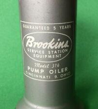 Vintage Eagle Brookins Service Station Equipment Model 314 Trigger Pump Oiler