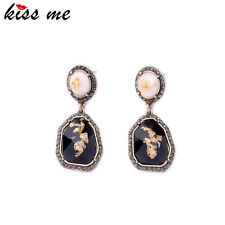 Kiss me New Statement Women Drop Earrings 2016 Classic Costume Jewelry ed01255