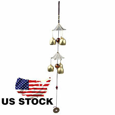New listing Amazing 6 Bells Alloy Wind chimes Yard Garden Outdoor Living Wind Chimes 20'