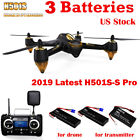 Hubsan H501S S X4 Drone FPV RC Quadcopter 1080P Camera RTH GPS Follow Me,Pro Ver
