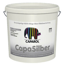 Caparol Capadecor CapaSilber 2,5 L -seidenglänzend, silberner Metalleffekt-