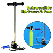 New listing High Pressure Air Hand Pump 4500Psi for Scuba Diving Air Oxygen Cylinder Tank Us