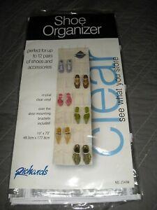 Richards Clear Shoe Organizer