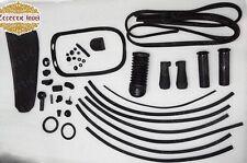 Vespa 150 VBB Sprint Veloce Super Classic Black Complete Rubber Gummi Kit