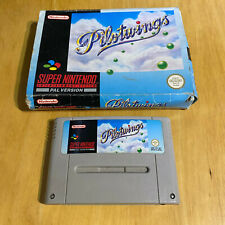 SNES Super Nintendo Boxed Game: Pilotwings