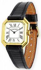 Cartier Oro Amarillo 18 kt Vintage Manual Reloj de Pulsera Analógico de Mujer