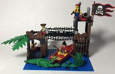 Lego Pirates Ambush 6249 Vintage INCOMPLETE Boat Alligator Pirate Conquistador