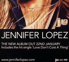 Jennifer Lopez 2001 J Lo Promo Poster Original