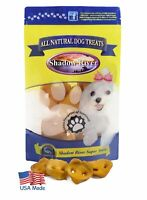 Shadow River USA Pig Snouts Chews Treats for Dogs 12 Pack Extra Small Pork Noses