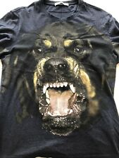 1000% Authentic Givenchy Rottweiler Navy Blue Shirt XL *mint*