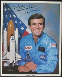 s1401) Raumfahrt Astronaut Charles L. Veach - NASA Photo Autogramm Autograph OU