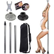 Dance Pole Full Portable Stripper Exercise Fitness Club Party Dancing