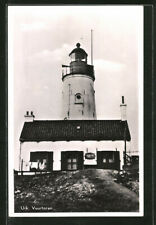 Urk, Vuurtoren, Leuchtturm, Ansichtskarte