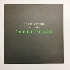 Joy Division substance Factory LP RARE A2 B4 ORIGINAL UK 1988 Vinyle fait 250