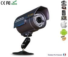 Caméra IP Extérieur Réseau WIFI IPHONE ANDROID BOX ADSL Enregistrement Carte SD