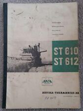VOLVO AVA ST610 ST612 COMBINE SERVICE MANUAL
