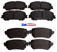 FOR NISSAN QASHQAI (J11) 2014-2019 FRONT & REAR BRAKE PADS SET NEW