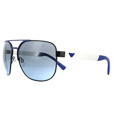 Emporio Armani Sunglasses EA2064 32248F Matt Black Matt Blue Blue Gradient