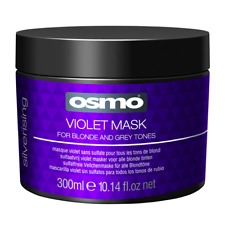 OSMO SILVERISING VIOLET MASK 300ml highlighted bleach blonde white grey hair