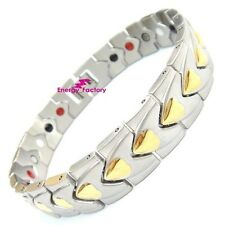 New FIR Magnetic Energy Germanium Power Bracelet Health 4in1 Bio Armband