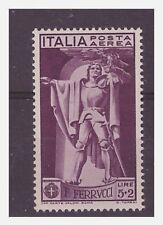 REGNO 1930  -  FERRUCCI  POSTA AEREA  LIRE 5 + 2    NUOVO  **
