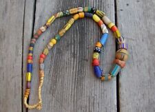 Venetian African Trade Beads Assorted Strand