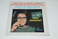 NANA MOUSKOURI Quatre Soleils LP 1965 NEW SEALED Philips Canada Mono 680.267ML