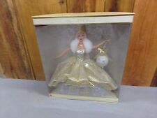 Celebration Barbie Doll Holiday Special 2000 Edition New Gold Dress & Ornament