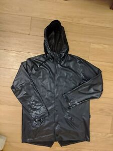 Rains Jacket Dark Blue Anorak