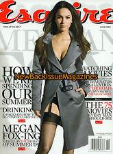 Esquire 6/09,Megan Fox,Amanda Righetti,June 2009,NEW