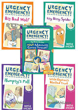 Urgency Emergency 1-4 Box Set(pb) Elephants Blocked Trunk,Bad Wolf,Spider,Humpty