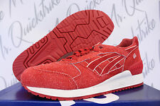 ASICS GEL RESPECTOR SZ 9 INDEPENDENCE 4TH OF JULY PACK RED WHITE H6U3L 2525