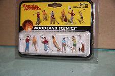 Woodland Scenics Scenic Accents #1907 Golfers New