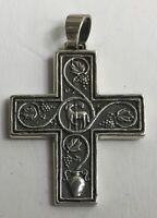 James Avery Cross Pendant Sterling Silver Retired 925 collectible.