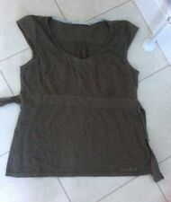 Weird fish Olive Green top size L