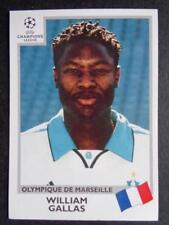 Panini Champions League 1999-2000 - William Gallas (Olymp. de Marseille) #141