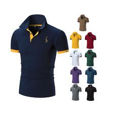 Polo Uomo T-Shirt Manica Corta Fino Alla 5XL Estate Maglia Maglietta Air Force