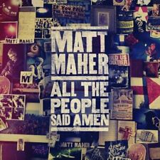 Matt Maher - All the People Said Amen CD NEW